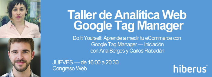 Taller Analitica Web en Congreso Web
