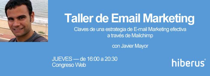 Taller Email Marketing en Congreso Web