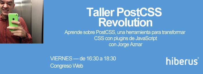 Taller PostCSS en Congreso Web