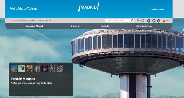Porta Web EsMadrid