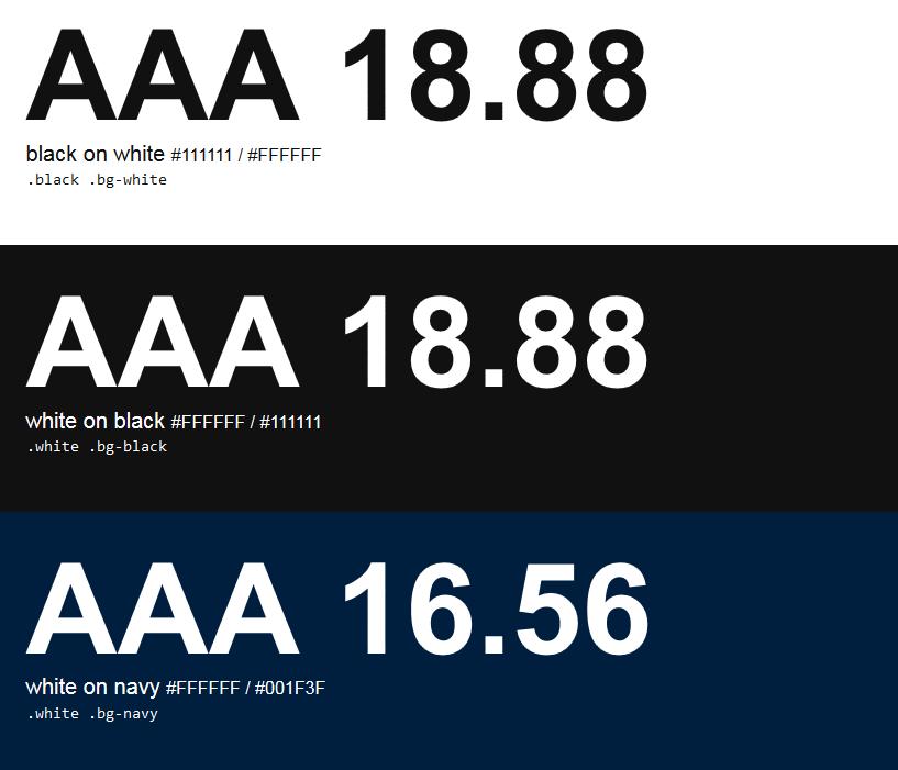 Contraste de Colores para Accesibilidad