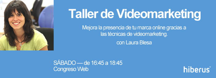Taller de video marketing en Congreso Web Zaragoza