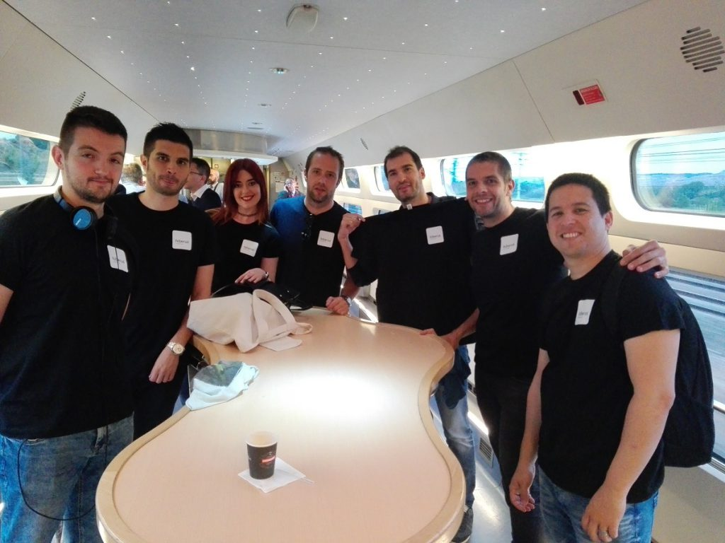 Equipo Hiberus en DrupalCamp