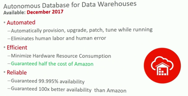 Información sobre la versión de de Oracle 18c .