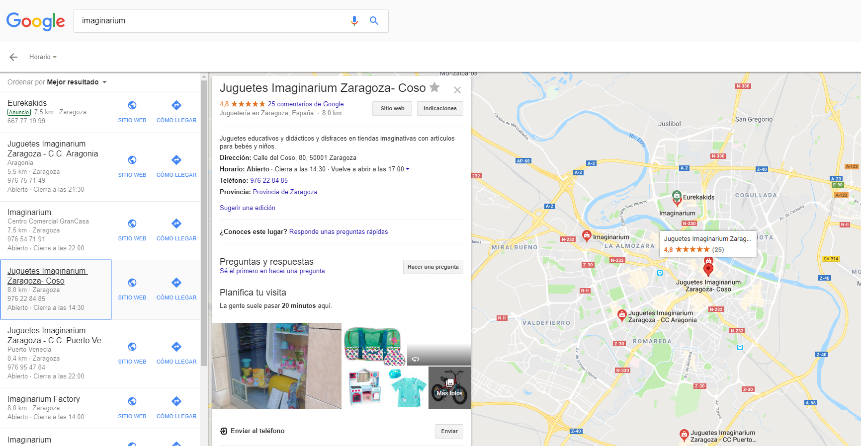 imaginarium seo local