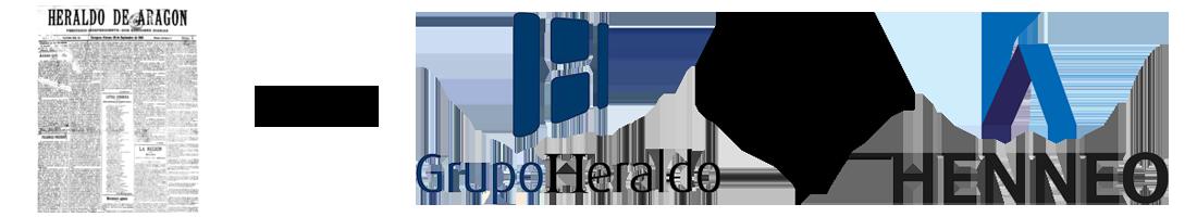 Evolución logo Grupo Henneo