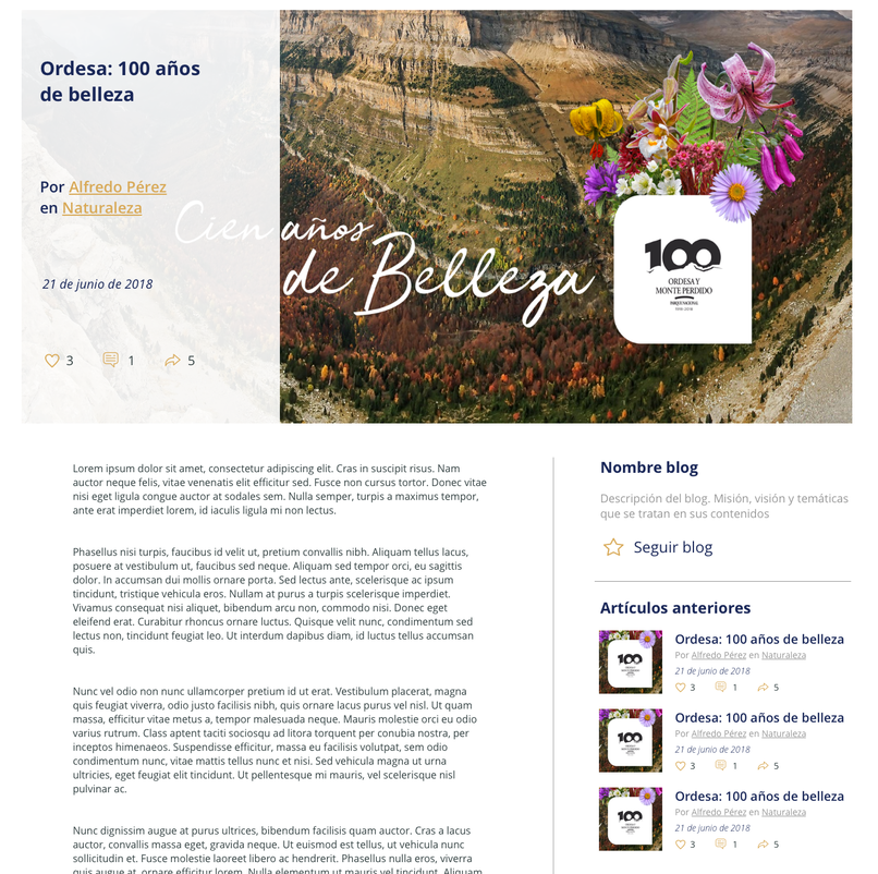 red de blogs intranet