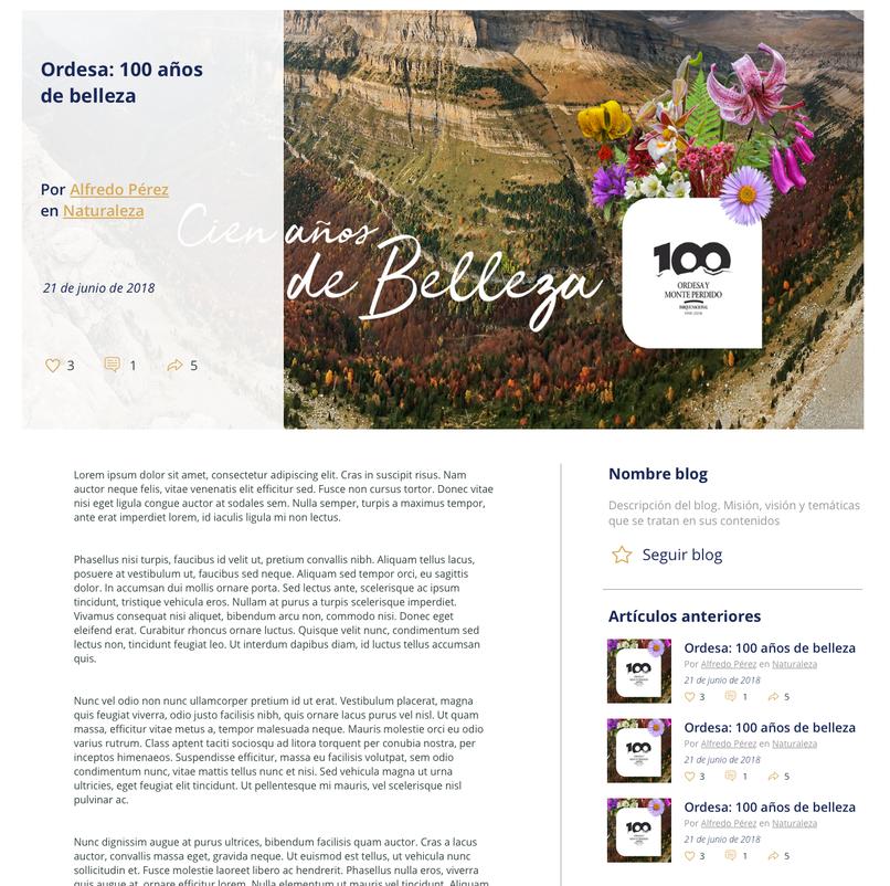red de blogs intranet