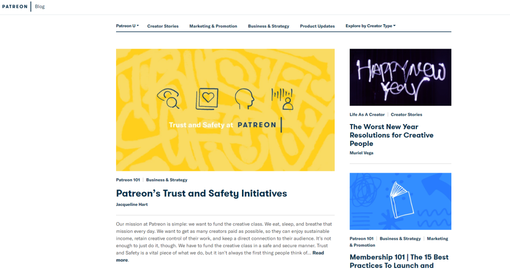 Patreon Blog