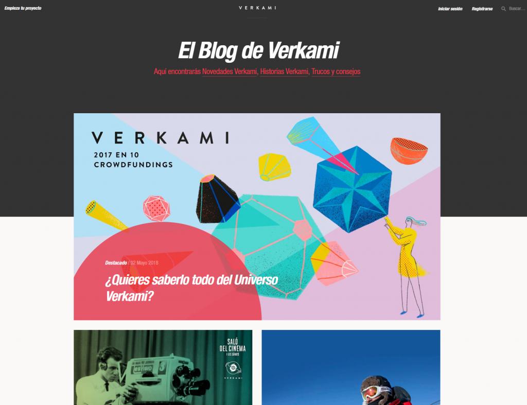 Verkami blog