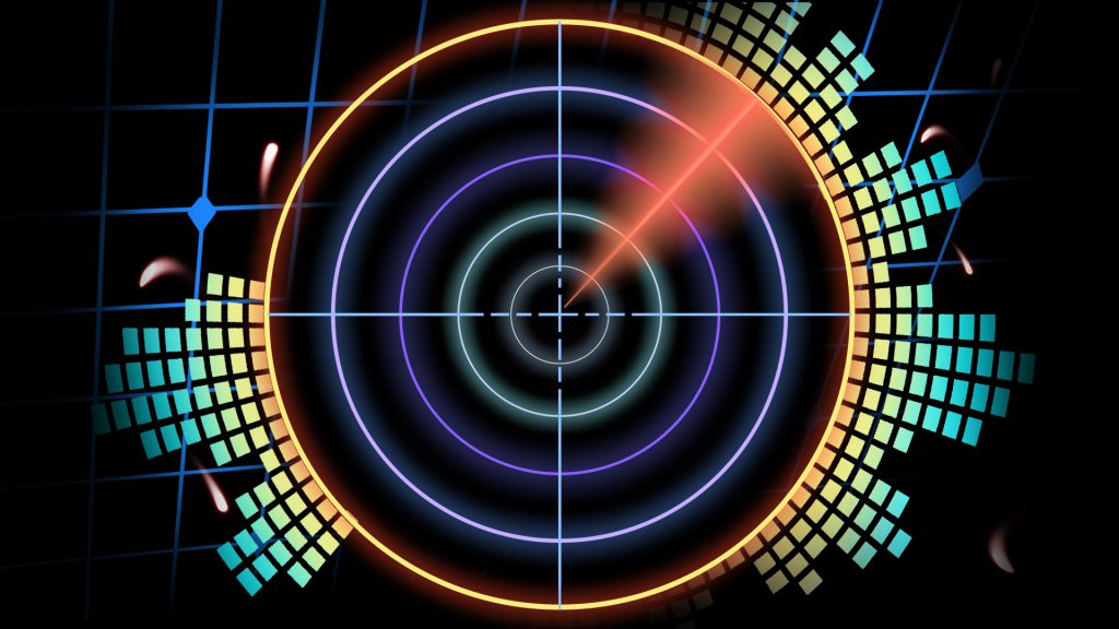 sonar beat visual