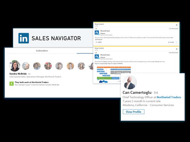 Sales Navigator y Dynamics 365 for Sales