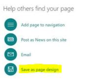 diseños página sharepoint