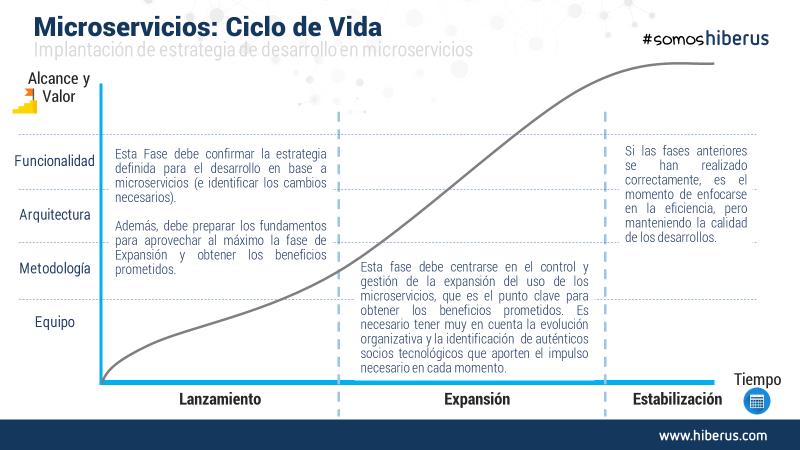 ciclo de vida microservicios