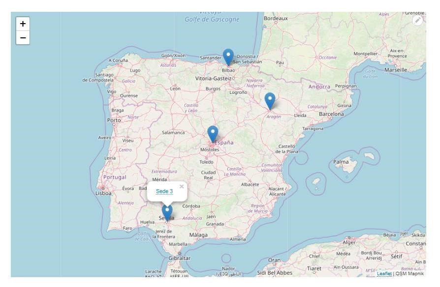 mapa geoposicionado drupal