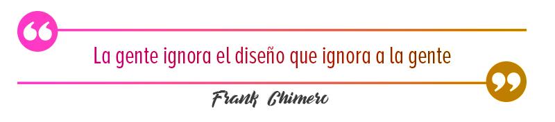 frase de Frank Chimero