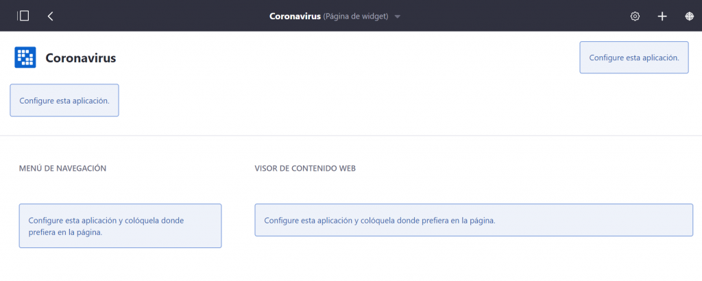 Widgets en Liferay