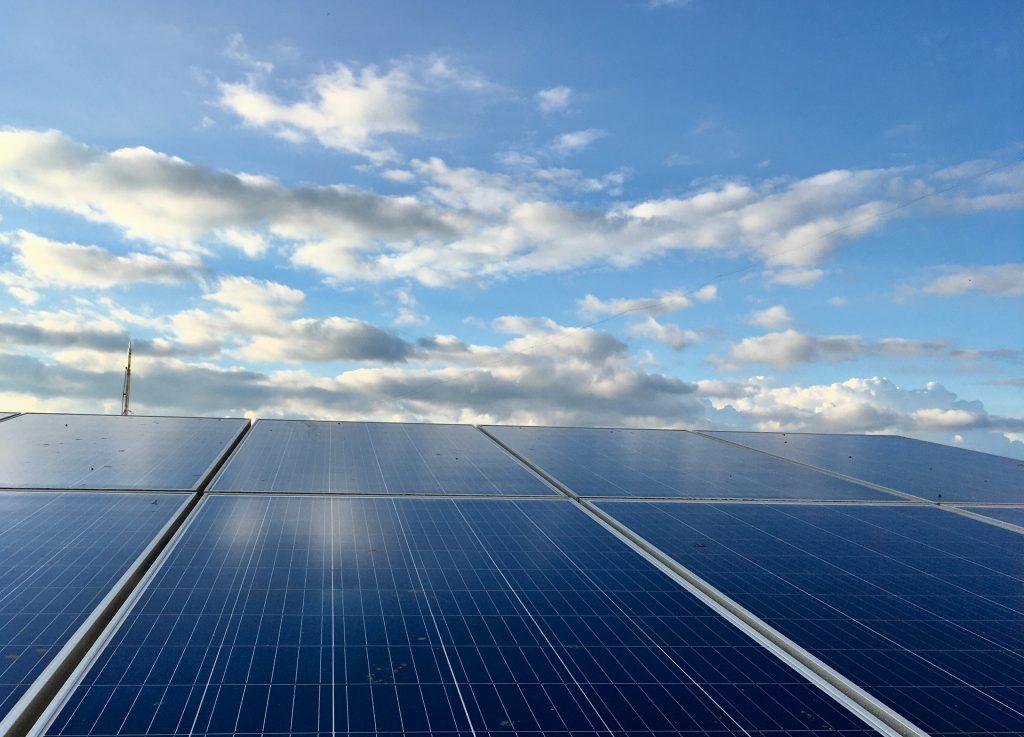 energia renovable parque fotovoltaico