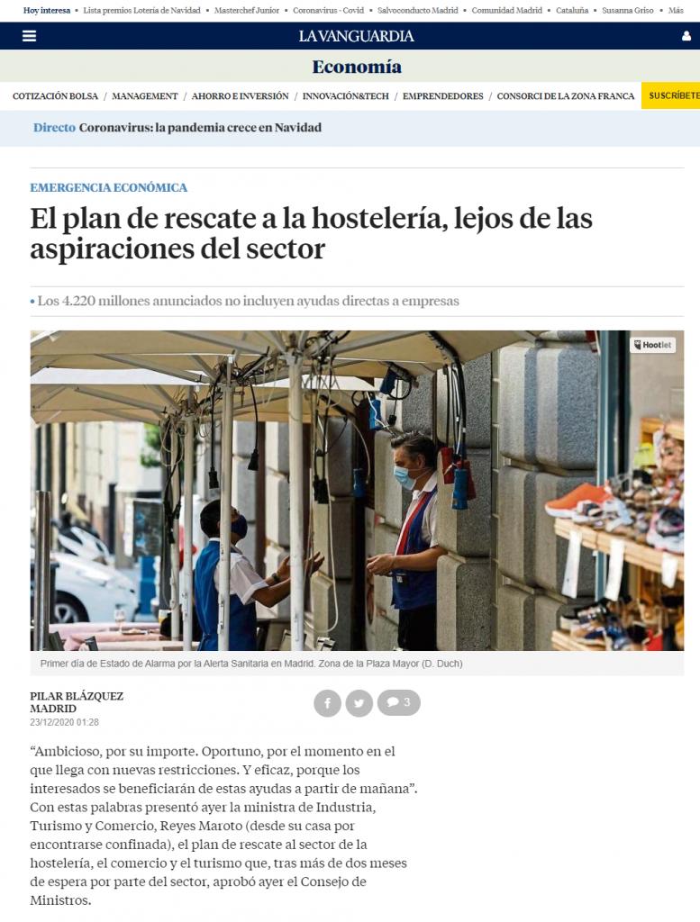 La Vanguardia utiliza el cms Xalok