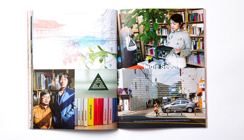 Una de las revistas editadas por Airbnb en asociación con Hearts Magazine