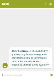 chatbot DKV