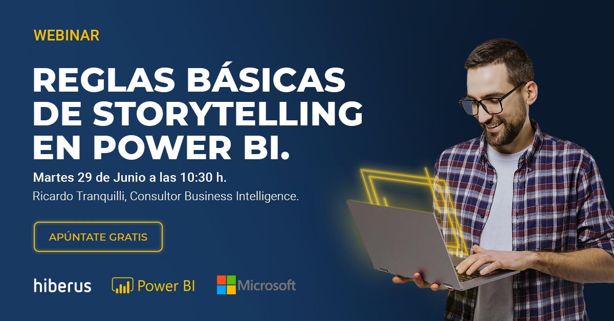 Storytelling en Power BI